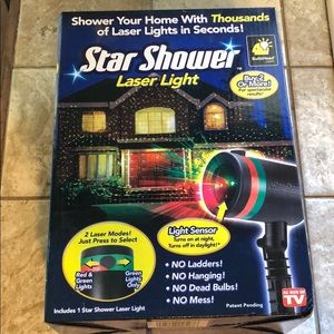 Other - Star Shower Laser Light.  Never opened